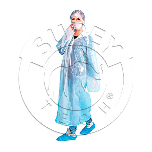 KIT: work coat, shoe cover, hair cover
