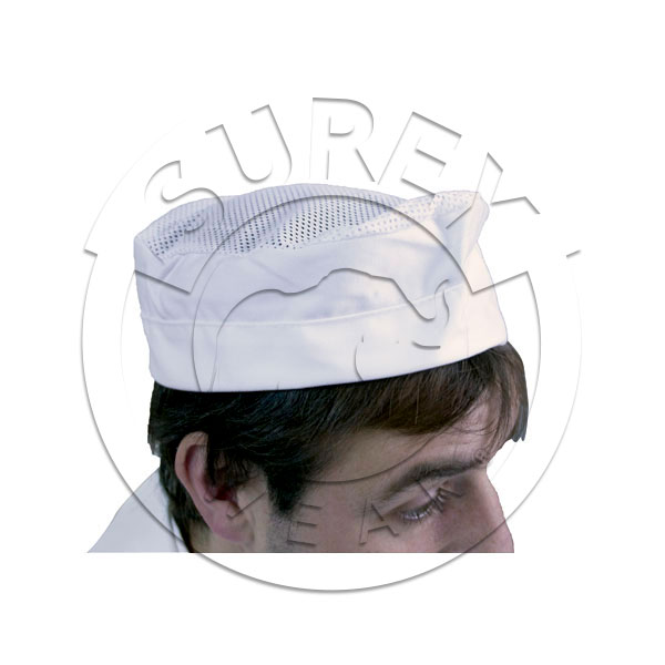 Aviation cap with head cover net