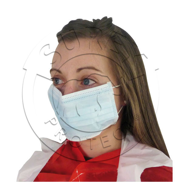High-risk mask with rubber