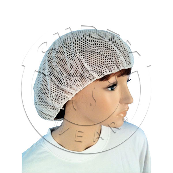 Polyester head cover net cap
