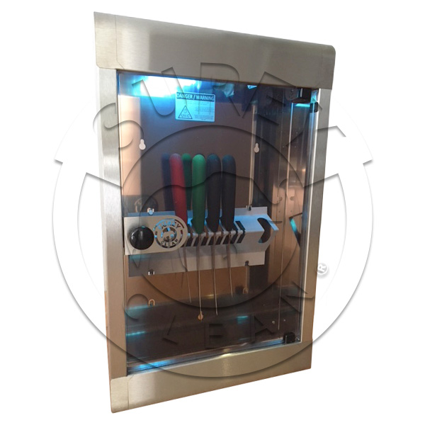 STERILIZER CABINET U.V. RAY 10 KNIVES