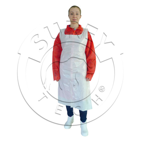 Disposable single-use aprons