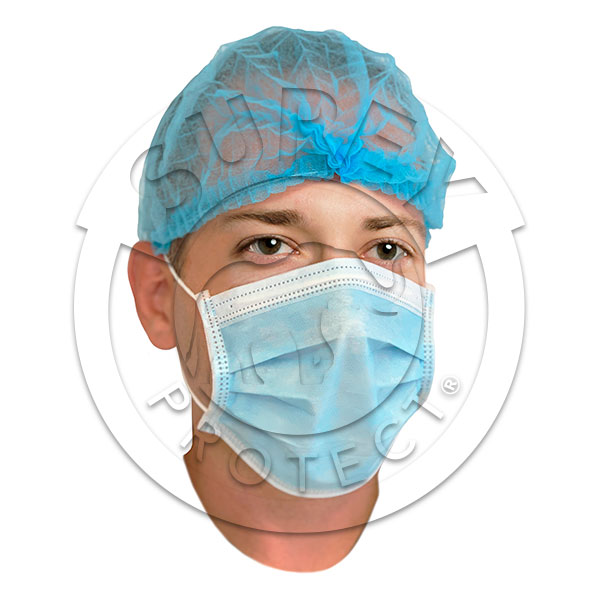MASK ACCORDING TO EN14683 STANDARD SURGICAL TYPE IIR