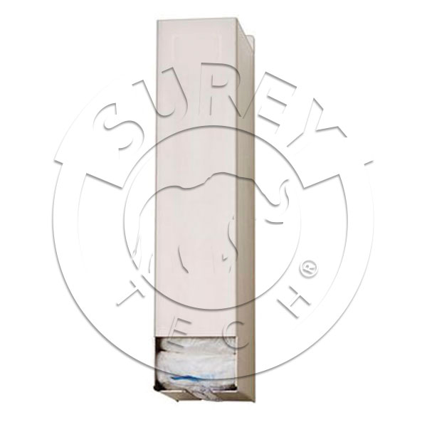 Stainless steel dispenser for visit kits